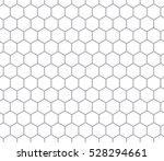 hexagonal cell seamless pattern ... | Shutterstock .eps vector #528294661