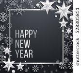 luxury elegant merry christmas... | Shutterstock .eps vector #528305851