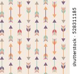 tribal arrows pattern. ethnic... | Shutterstock .eps vector #528311185