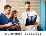 young doctor and medical...   Shutterstock . vector #528317911