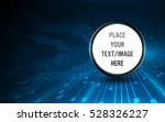 abstract circle template button ... | Shutterstock .eps vector #528326227