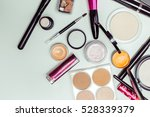brush and cosmetic isolated on... | Shutterstock . vector #528339379