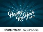 happy new year greeting card | Shutterstock .eps vector #528340051