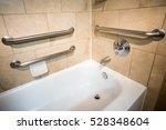disability access bathtub in a... | Shutterstock . vector #528348604