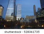 9 11 memorial area and adjacent ... | Shutterstock . vector #528361735