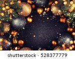 christmas balls. | Shutterstock . vector #528377779