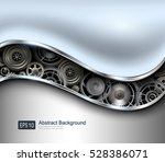 abstract background metallic... | Shutterstock .eps vector #528386071