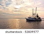 Fishing Trawler On The Water...