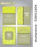 tribal mandala design set....   Shutterstock .eps vector #528411604