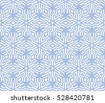 decorative seamless floral... | Shutterstock .eps vector #528420781