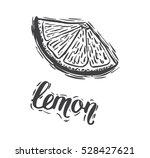 hand drawn vector illustration... | Shutterstock .eps vector #528427621