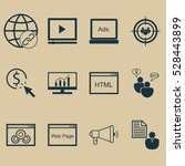 set of 12 seo icons. can be...