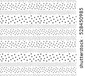 polka dot vector monochrome... | Shutterstock .eps vector #528450985