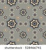 seamless star geometric pattern.... | Shutterstock .eps vector #528466741