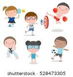 kids and sport  children...