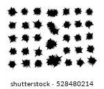 set bullet holes  target... | Shutterstock .eps vector #528480214