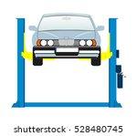 car lifting. | Shutterstock .eps vector #528480745