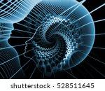 strings of soul gears of mind... | Shutterstock . vector #528511645