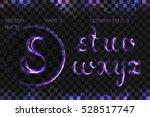 vector eps 10. glowing violet...   Shutterstock .eps vector #528517747