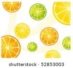 citrus background | Shutterstock .eps vector #52853003