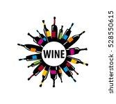 vector logo wine | Shutterstock .eps vector #528550615