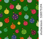funny merry christmas... | Shutterstock .eps vector #528575194