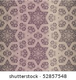 retro wallpaper   Shutterstock .eps vector #52857548