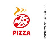 vector logo pizza | Shutterstock .eps vector #528603211