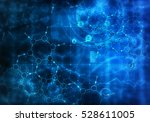 medical abstract background .... | Shutterstock . vector #528611005