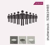 people vector icon.... | Shutterstock .eps vector #528614485