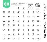 set of seo and development... | Shutterstock .eps vector #528621007