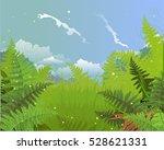 landscape  nature vector... | Shutterstock .eps vector #528621331
