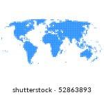 world map | Shutterstock . vector #52863893