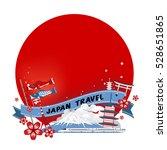 vector landmark of japan...   Shutterstock .eps vector #528651865