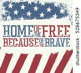 patriotic poster design... | Shutterstock . vector #528675349