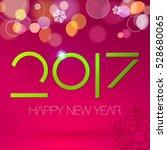 new year. 2017.  | Shutterstock .eps vector #528680065