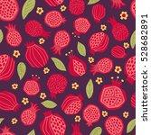 vector illustration of juicy... | Shutterstock .eps vector #528682891