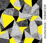 geometric seamless pattern in... | Shutterstock . vector #528687235