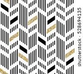 seamless chevron pattern. art... | Shutterstock . vector #528694135