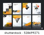 business vector set. brochure... | Shutterstock .eps vector #528699271