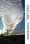 Small photo of Altocumulus cloud