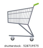 shopping carts icon flat style. ... | Shutterstock .eps vector #528719575