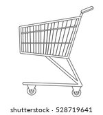 shopping carts icon  line ...   Shutterstock .eps vector #528719641