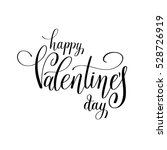 happy valentines day... | Shutterstock .eps vector #528726919
