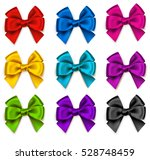 vector set of colorful... | Shutterstock .eps vector #528748459