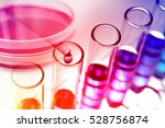 experiments in the laboratory | Shutterstock . vector #528756874