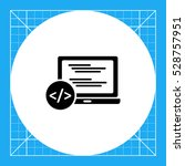 programming simple icon | Shutterstock .eps vector #528757951