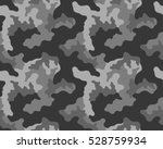 fashionable camouflage pattern  ... | Shutterstock .eps vector #528759934