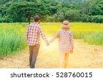 Cheerful Lovers Enjoying Natur...