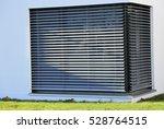 window with shutter  exterior...   Shutterstock . vector #528764515